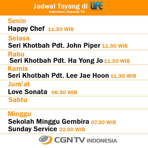CGNTV di LIFE Channel(70)
